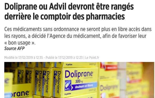 Medicament Doliprane